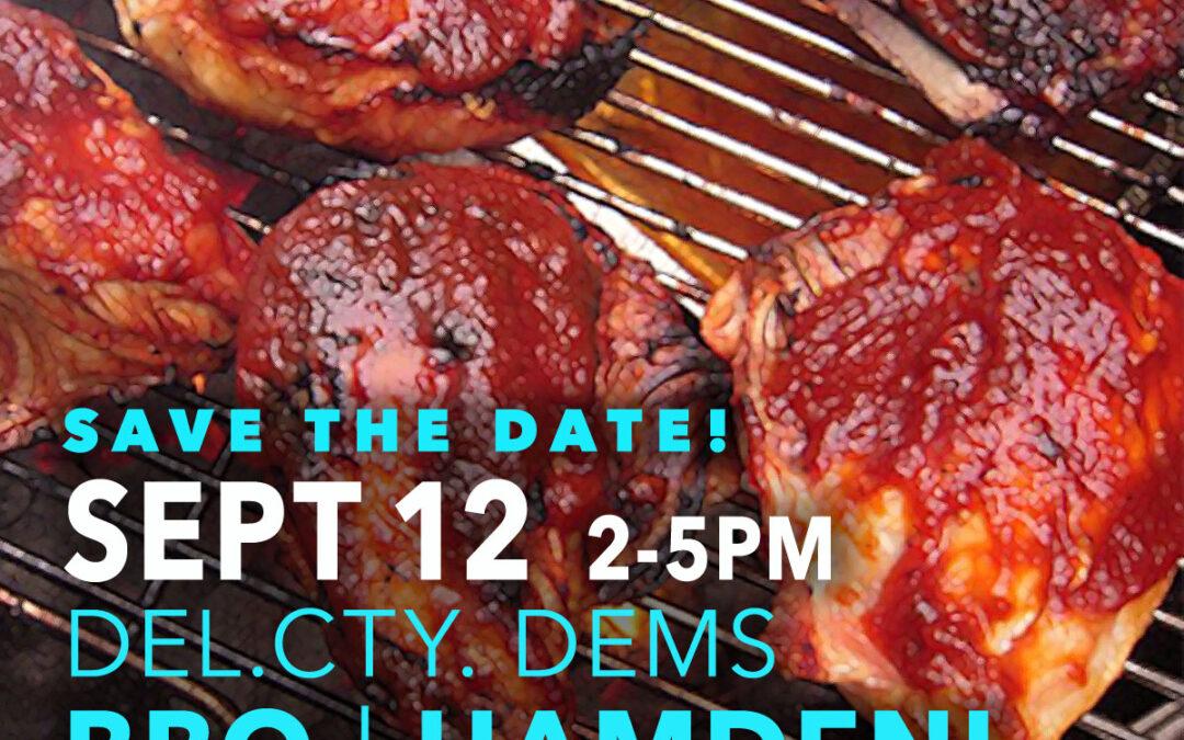 Annual Fall BBQ (Canceled)